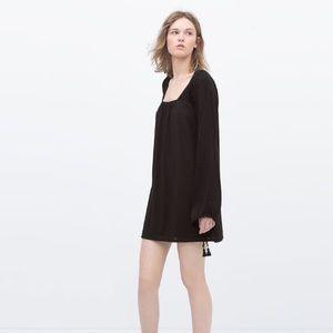 NWT Zara Black mini dress